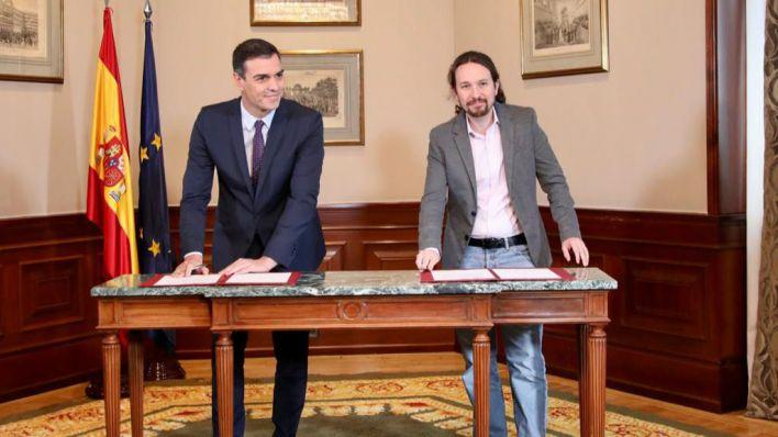 Armengol: 'Es un preacuerdo histórico que debe abrir un tiempo nuevo en España'