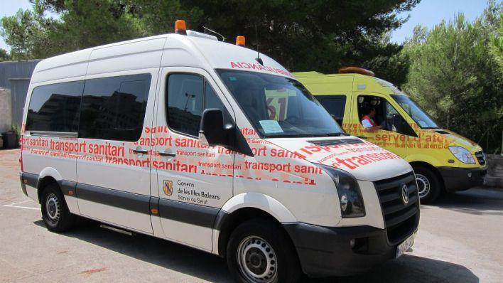 Huelga de ambulancias públicas y privadas de Baleares