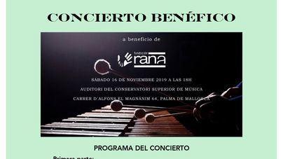 Fundación RANA organiza un concierto benéfico para la prevención del abuso sexual