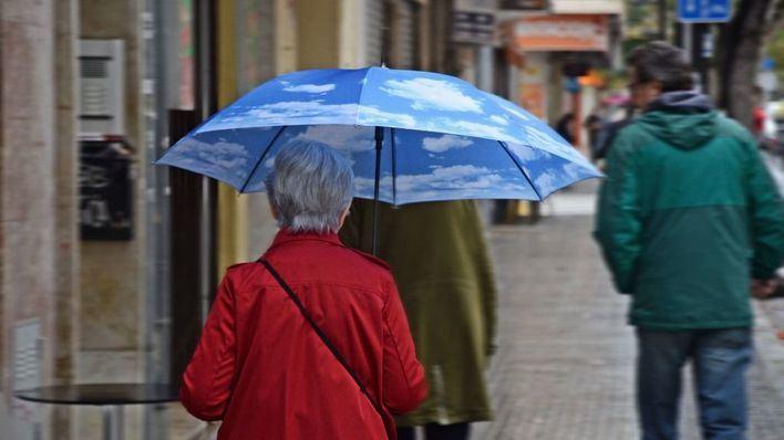 Miércoles lluvioso en Baleares