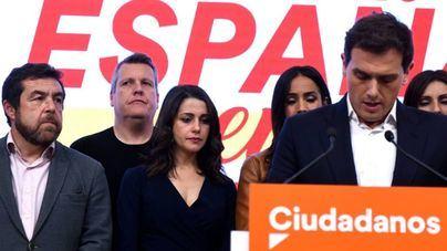 Ciudadanos, en crisis de liderazgo y financiación: pierde 4 millones de euros con las elecciones