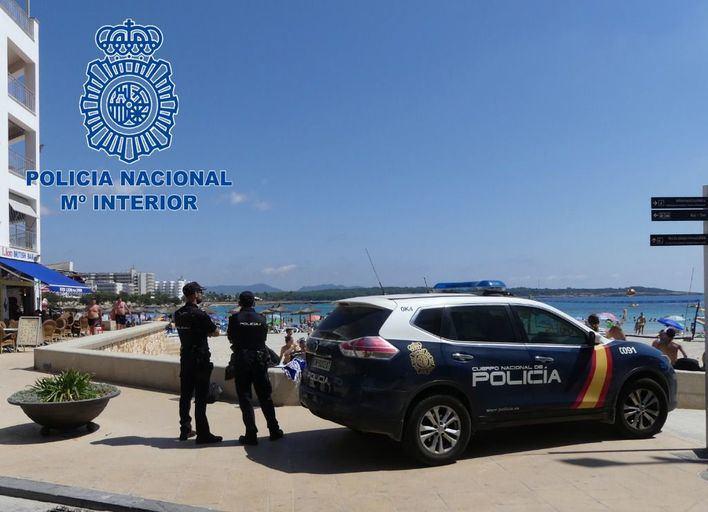 Detenida tres veces en pocos días por robos con fuerza en Playa de Palma