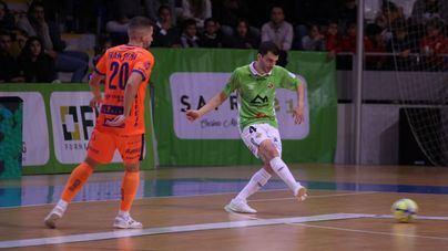 El Palma Futsal rompe su racha de triunfos