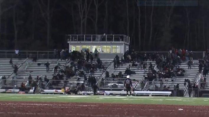 Graban un tiroteo que ha dejado varios heridos durante un partido de fútbol americano