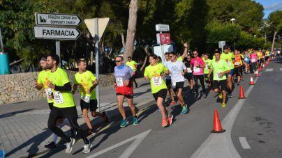 Más de 1.300 personas participan en la 'Cursa de Bombers de Mallorca'