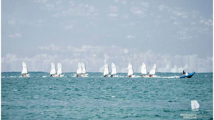 Éxito de los regatistas del Club Nàutic S'Arenal en el Trofeo Nova Beach Lounge
