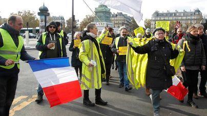Los 'chalecos amarillos' fuerzan el cierre de las Galerías Lafayette