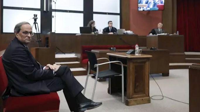 Torra: 'Si, desobedecí, pero era imposible obedecer una orden ilegal'