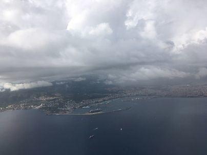 Fuertes vientos y bajada de las temperaturas nocturnas en Baleares