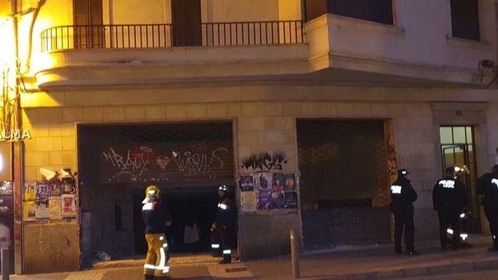 Segundo desalojo de una finca entera en Palma en menos de 48 horas por riesgo de derrumbe
