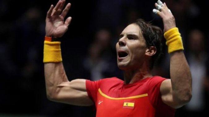 Nadal salva a la selección española ante Rusia