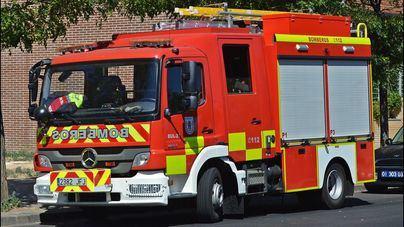 Un incendio en el depósito municipal de Sant Josep calcina 14 vehículos