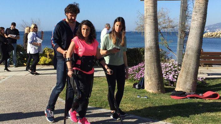 El exoesqueleto del Hospital Sant Joan de Déu de Palma ayuda a 39 pacientes con lesión medular