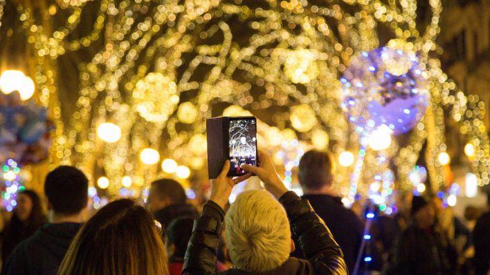 Palma se prepara para el encendido de luces de Navidad el próximo jueves