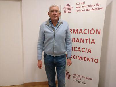 El presidente del Colegio de Administradores de Fincas, Pau Bonet