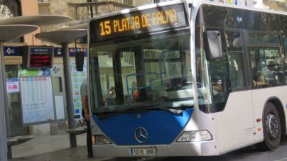 Los trabajadores de la EMT desconvocan la huelga y habrá bus en Palma esta Navidad