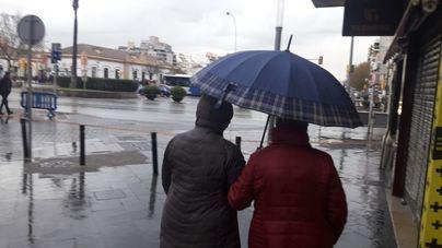 Nivel amarillo en Baleares este sábado por lluvia y viento