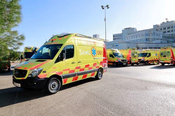 Fallece una motorista italiana al caerse junto al parque de Sa Riera