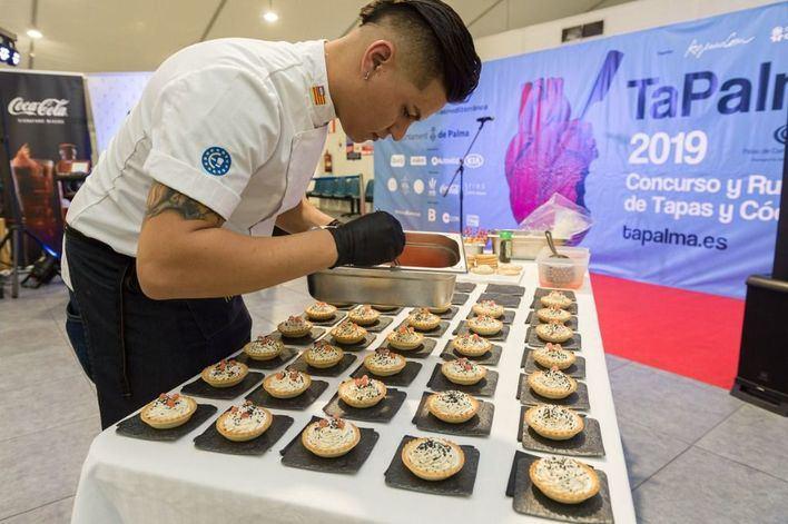 El Palau de Congressos se viste de gala este lunes para celebrar el concurso TaPalma 2019