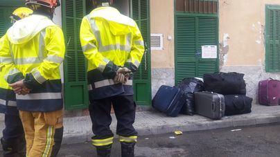 Varios edificios de Palma han sido desalojados en pocas semanas por riesgo de derrumbe
