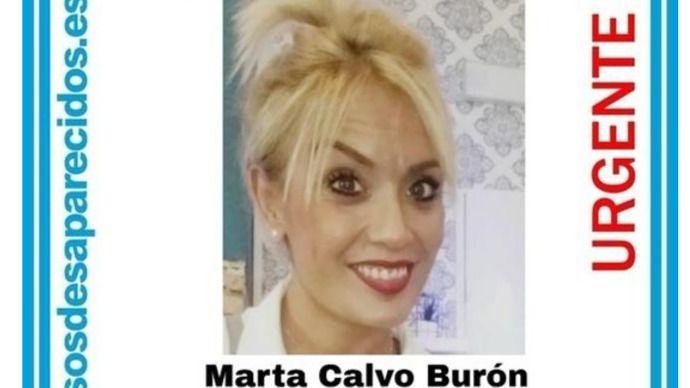 Sin rastro de Marta Calvo, desaparecida desde que quedó con un desconocido