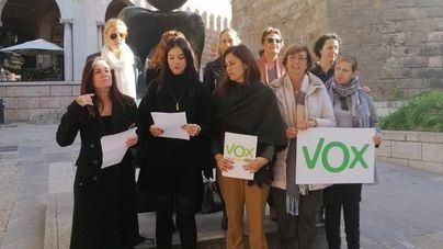 Vox critica la 'utilización electoralista que se hace de la mujer'