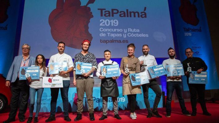 El restaurante 'Catalina La Fina' se alza con el TaPalma de Oro 2019