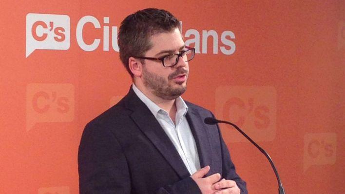 Dimite Fran Hervías, secretario de Organización de Ciudadanos