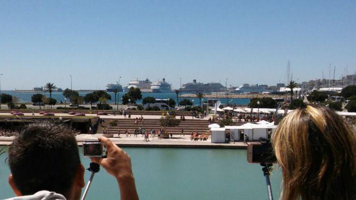 La calidad del aire del puerto de Palma es