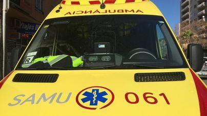 Seis heridos en una colisión múltiple con cinco coches implicados en Ibiza