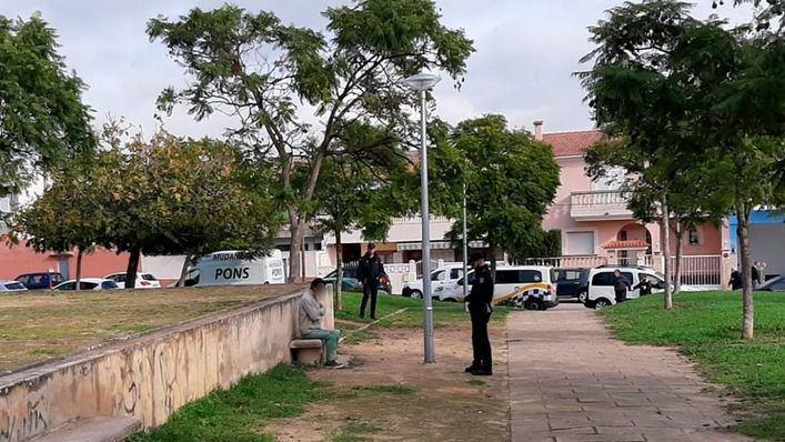 La Policía investiga si la mujer quemada en Son Peretó se prendió fuego accidentalmente
