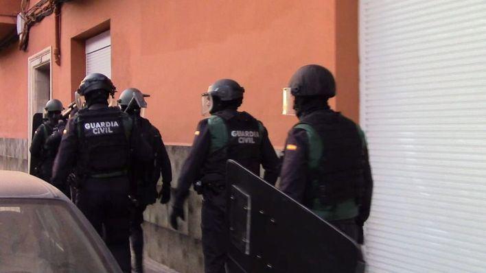 12 detenidos en un nuevo golpe de la Guardia Civil al narcotráfico en Mallorca