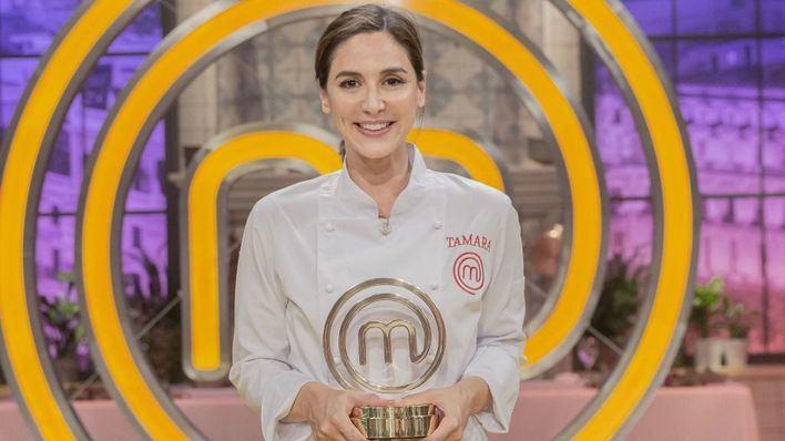 Tamara Falcó celebra su victoria en 'MasterChef Celebrity'
