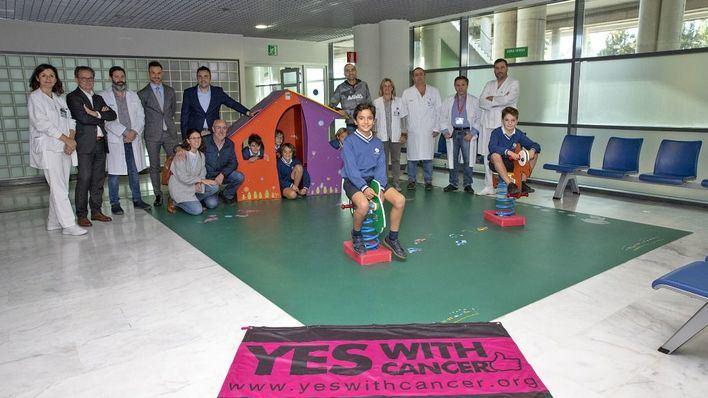 Radiología pediátrica de Son Espases instala un parque infantil