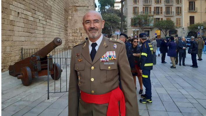 El general Fernando García Blázquez asume el mando de la Comandancia de Baleares