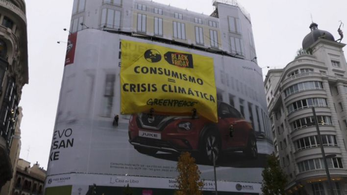 Los ecologistas denuncian que el consumismo agrava la crisis climática