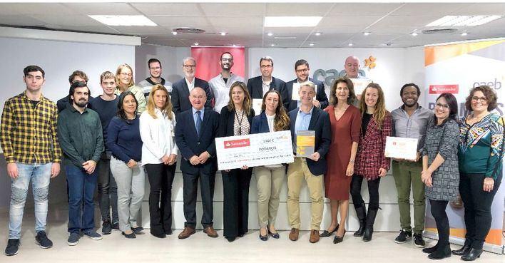 Podarcis gana el 'Premio CAEB-Santander a la Innovación Empresarial para Pymes 2019'