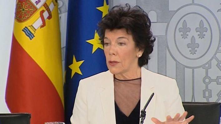 Isabel Celaá: 'Pedro Sánchez irá a la investidura solo para ganarla'