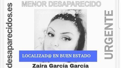 Localizan en buen estado a la menor desaparecida en Palma