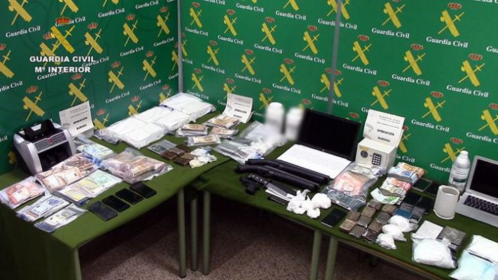 La 'Operación Bubadu' se salda con 33 detenidos y la incautación de drogas, dinero y armas