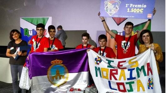 Dos equipos de un colegio de Ibiza, finalistas del Campeonato Interescolar del cubo de Rubik's