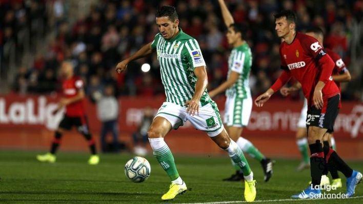 Un combativo Mallorca cae ante el Betis tras una enconada lucha
