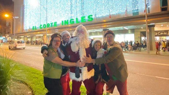 El Corte Inglés pone rumbo a la Navidad con el encendido de luces de su centro de Avenidas