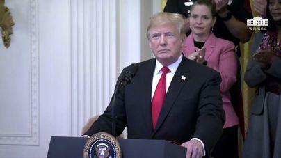 Trump declina acudir a la Cámara de Representantes para participar en la vista del 'impeachment'