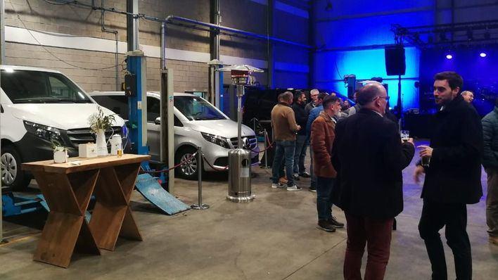 Autovidal presenta en Santa Maria sus nuevos Mercedes-Benz industriales