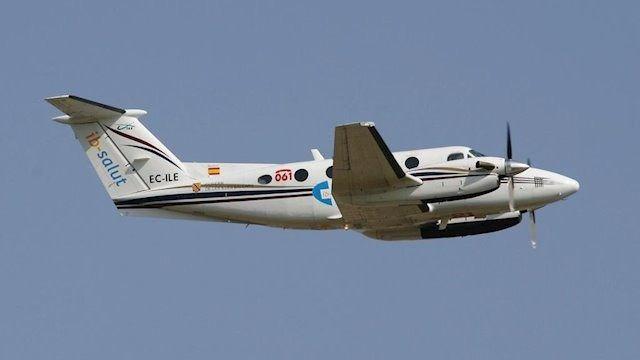 El Govern rescinde el contrato del transporte aéreo sanitario