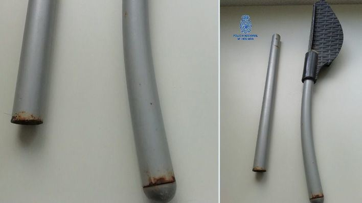 Detenido un alemán tras agredir en la cabeza a un trabajador de un hotel en Playa de Palma