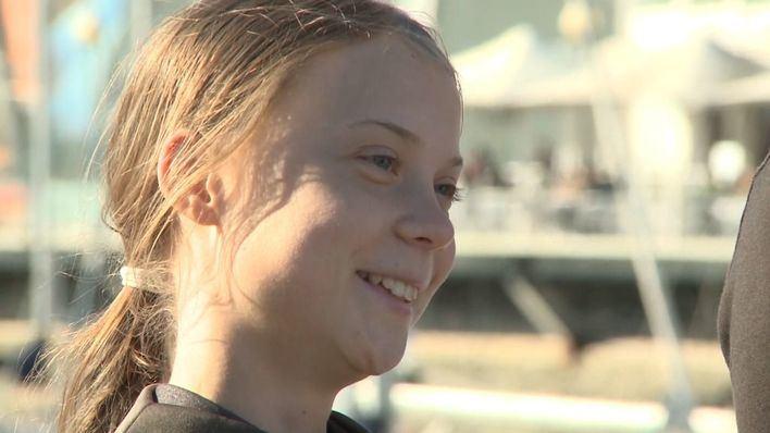 Greta Thunberg obligada a recurrir al diésel para cubrir parte de su viaje en tren a Madrid