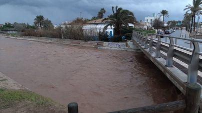 El temporal remite en Baleares tras dejar torrentes desbordados, inundaciones, rayos y 118 incidencias