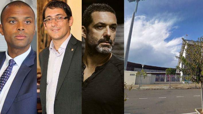 Periodistas, políticos y otras personalidades juegan un partido solidario a favor de Projecte Home Balears